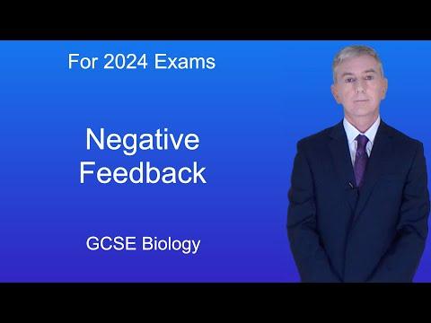 GCSE Science Biology (9-1) Negative Feedback