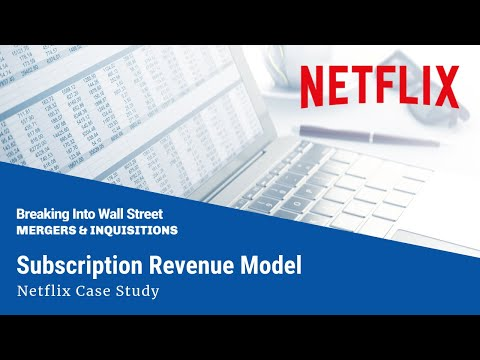 Subscription Revenue Model (Netflix)