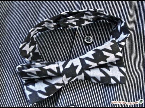 Sew A Boys' Bow Tie