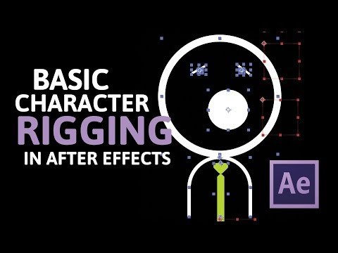 Basic Character Rigging in After Effects