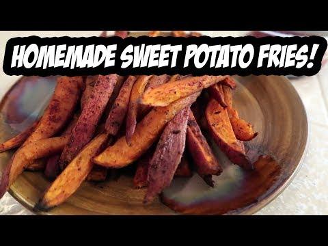 Homemade Sweet Potato Fries Recipe