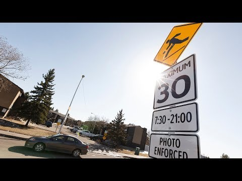 Lower speed limits in residential Edmonton put off until 2019