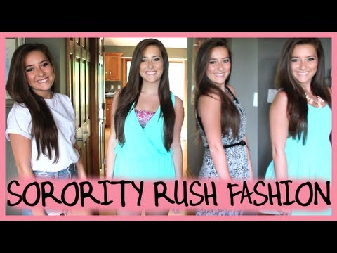 Sorority Recruitment Outfit Ideas!