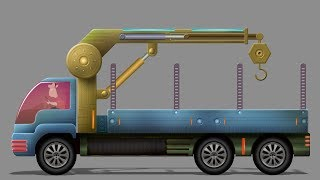 Kids Tv Channel | Loading Truck | Formation And Uses | Videos For Kids| Heavy Vehicles