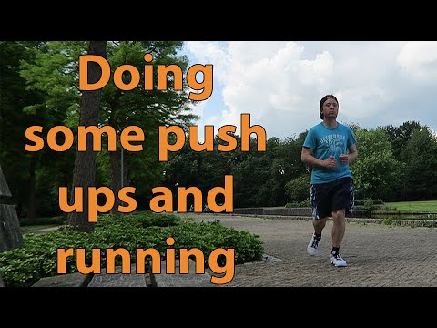 Push ups and Running vlog - Trying to get fit and healthy for the summer!