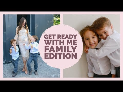 Realistic GRWM Wedding Guest | Family Edition