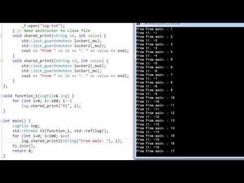 C++ Threading #4: Deadlock