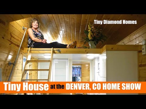 Big Bathroom in this Tiny House (at the Denver Home Show)