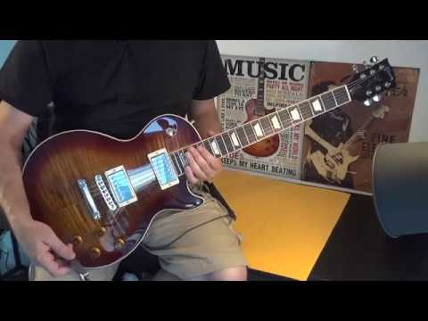 2017 USA Gibson Les Paul Standard T Restring Complete Set Up and Intonation Tips!