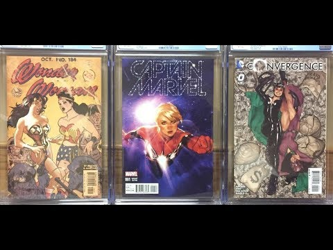 Comic Book Grading - My First Submission to CGC!  My Books Got Damaged...