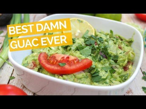 Best Damn Guacamole Recipe Ever