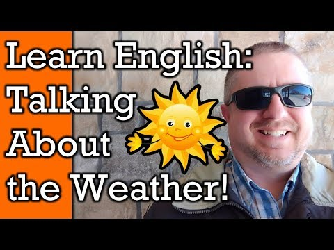 Weather Talk!  Learn English Words and Phrases to Talk about the Weather | Video with Subtitles