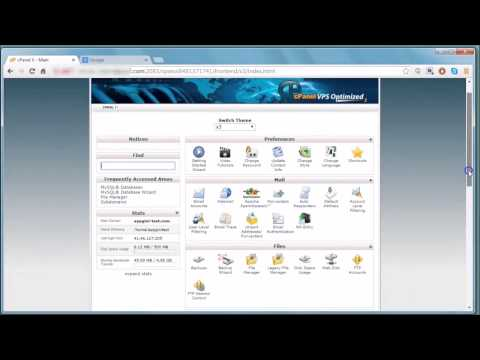 How to upload your AppGini web application to a web server using FTP and cPanel