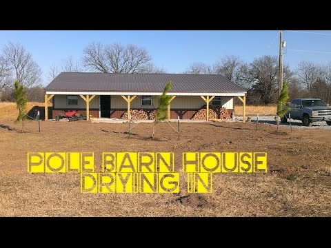 How To Build A Pole Barn House For Cheap