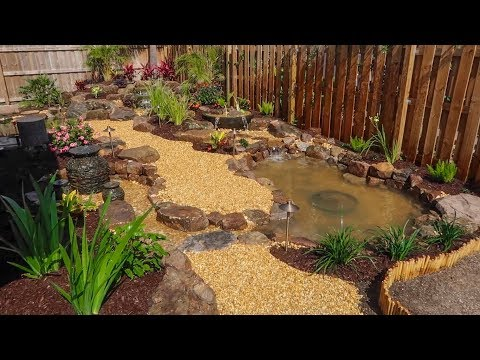 The NEW MINI POND is FINISHED!!