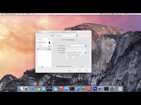 How to Connect Apple Mac to VPN (PPTP) [HD][4K][Tutorial][Guide] 2017