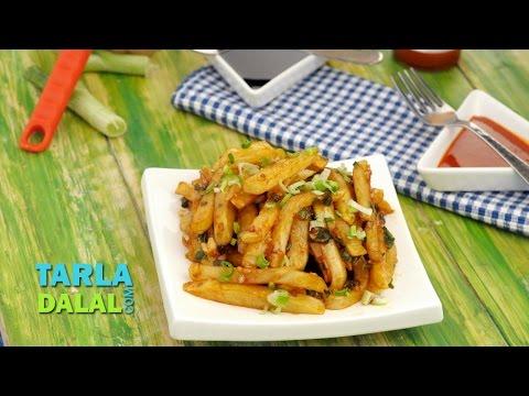 Chilli Potatoes by Tarla Dalal