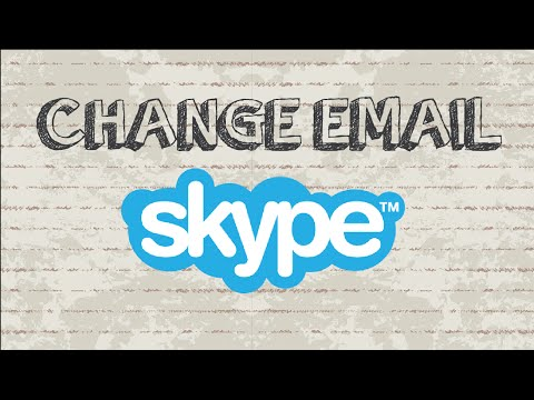 How to change Skype email address | Mobile App
