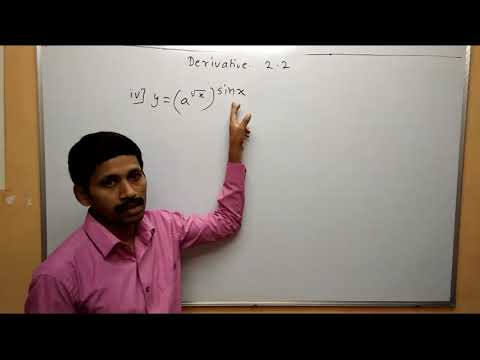 Differentiation Part 4 Exercise 2.2  Derivative Maharashtra Board Maths Class 12