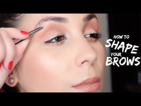 EYEBROW SHAPING AND GROOMING FOR BEGINNERS (TIPS & TRICKS)