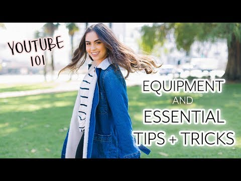 HOW TO START A YOUTUBE CHANNEL // Equipment, Basics, & Tips + Tricks | YouTube 101 ♡
