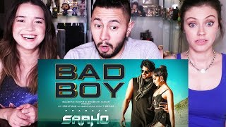 SAAHO: BAD BOY SONG | Prabhas | Jacqueline Fernandez | Music Video Reaction!