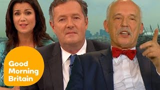 Piers Morgan Rages at