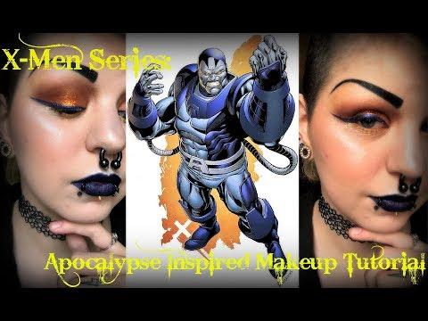 X-Men Makeup Series: Apocalypse Inspired Makeup Tutorial | Astrid Aesthetic