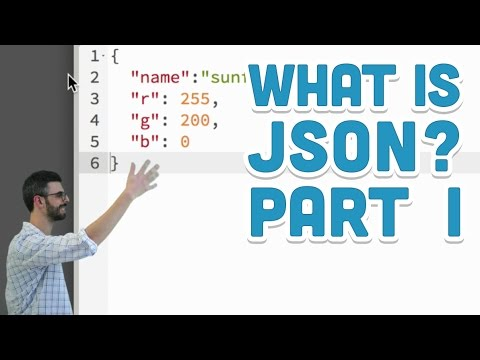 10.2: What is JSON? Part I - p5.js Tutorial