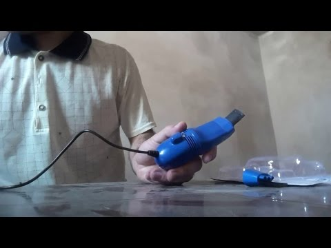 Mini USB Vacuum Keyboard Cleaner Dust Collector For PC Laptop (Review)