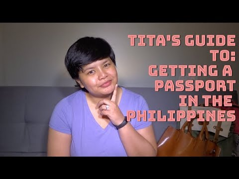 [Your Tita in China Travels] Getting a Passport in the Philippines WITHOUT an Appointment!