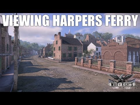 Viewing Harpers Ferry - War of Rights Update 100