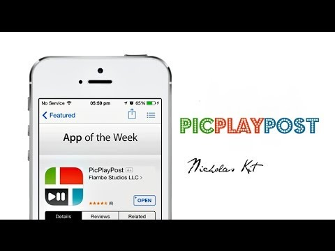 [Free App Of The Week] PicPlayPost - Video and Photo Collages