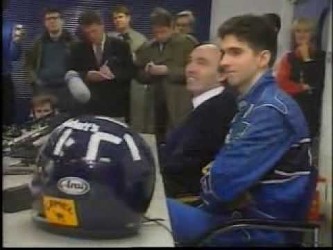 Williams Finally sign Damon Hill for the 93 F1 season
