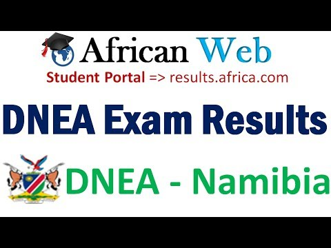 Namibia DNEA Exam Results 2017 - How to Check?