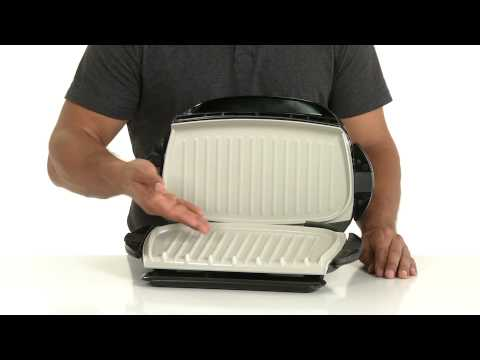GRP472P George Foreman 5-Serving Grill | Product Features
