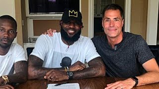 LeBron James Officially Signs With Lakers After Arriving In Los Angeles!