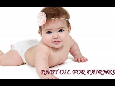 MAKE BABY FAIR  and GLOWING NATURALLY ||BABY MASSAGE OIL FOR FAIRNESS||ALMOND OIL FOR BABIES SKIN