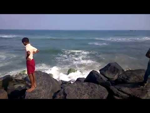 Marina Beach & Cooum River,Chennai, Tamil Nadu, India part1 شاطئ مدينة مدراس جيناي