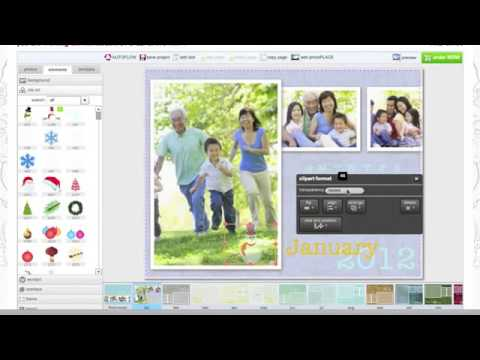 How To Create A Custom Photo Calendar Online | memoPRINT