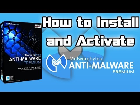 How to install & activate Malwarebytes Anti-Malware v2.2.1.1043