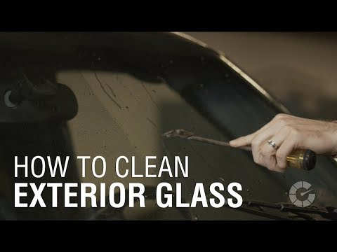 How To Clean Exterior Glass | Autoblog Details
