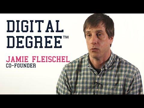 Jamie Fleischel, Co-founder of the Digital Degree