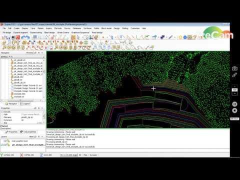 Stockpile Design dengan Surpac Part 04