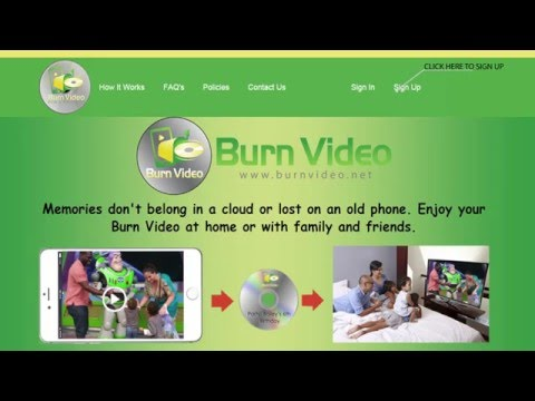 How to Burn Photos & Videos From Computer to HD DVD