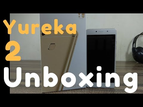 Yureka 2 Unboxing & First Look   Hands On   Hindi