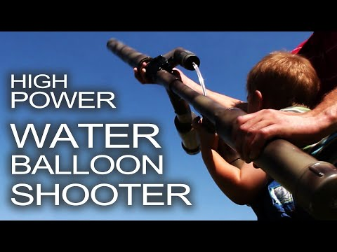 Water Balloon Shotgun!