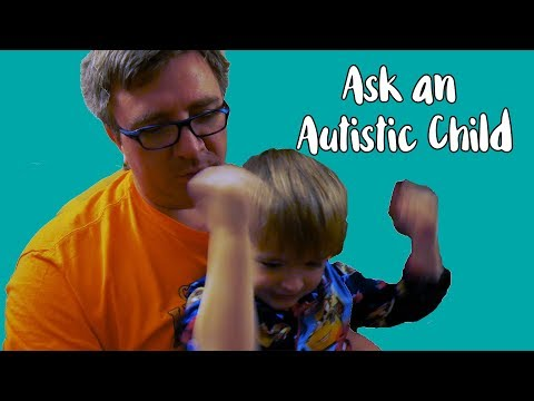 Ask an Autistic Child | ABA Therapy or Kindergarten | Everett spells his name | Can't Write Letters