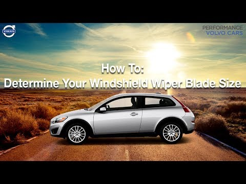 How To: Determine Your Windshield Wiper Blade Size  - Performance Volvo - Sinking Spring, PA.