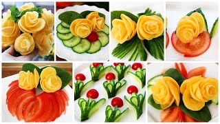 Unique Salad Decoration By Neelam Ki Recipe Best Decoration Idea